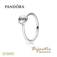 Оригинал PANDORA кольцо цветная капля 190983CZ