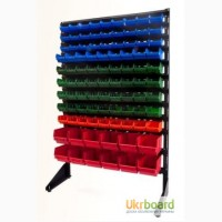 Навесная система хранения 1.5 м Складские стеллажи Ящик для хранения без крышки
