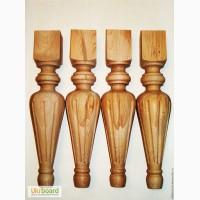 Деревянные точеные резные столбы, балясины, ножки