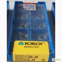 Твердосплавная пластина DCGT 11T308-AK H-01, Korloy