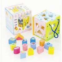 Деревянная игра Куб-логика