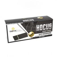 Сигаретные гильзы Hocus Чёрные 500 штук, фильтр 15 мм
