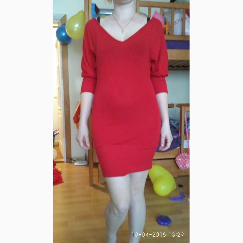 Фото 5. Платье красное
