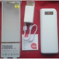 PRODA Remax Power Box 20000 mAh, аккумулятор внешний, новый - 2 USB