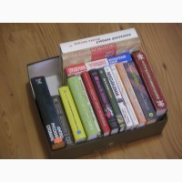 Книги и словари в твердой обложке б/у (16 штук)