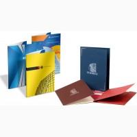 Печать папок, фирменные папки Киев, заказать папки фирменные в Киеве