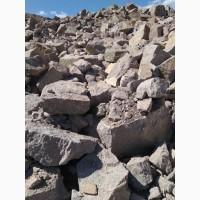 Камень бутовый гранитный
