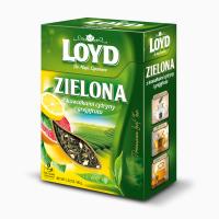 Чай зеленый Loyd Zielona с Лимоном и Грейпфрутом листовой