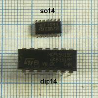 Микросхемы импортные КМОП 98 наименований