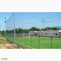 Сетное полотно ячейка 60х60 для ограждения спортивных баз, школ