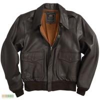 Лётные кожаные куртки ВВС США от Alpha IndustriesUSA)