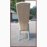 Стулья стул бежевый металлический бу с мягким сидением и спинкой для кафе бара ресторана