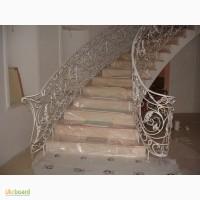 Кованые перила, лестничные и балконные ограждения под заказ