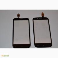 Тачскрин touch screen сенсор (сенсорное стекло) FLY IQ4404 Spark (черный, белый)
