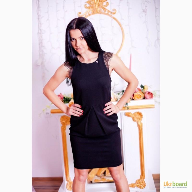 плаття з мереживом фото