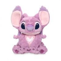 Мягкая игрушка розовый Стич монстр Ангел 36 см