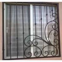 Решетки на окна, кованая
