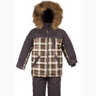Детские зимние комбинезоны -тройка для мальчиков 1-6 лет