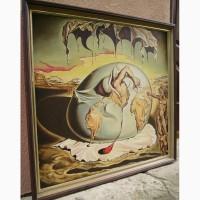 Картина 92*104 Сальвадор Дали холст масло деревянная рама ручная работа Живопись художника