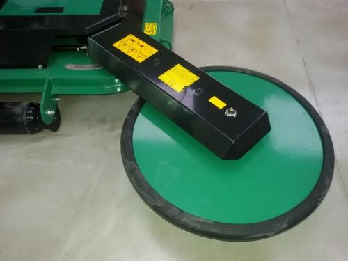 Фото 3. Измельчитель с боковым диском для приствольной обработки. GB-GBH 150-180 (GEO, Италия)