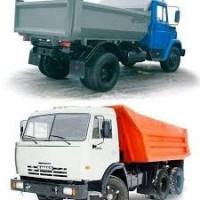 Вывоз строймусора, хлама, грунта, снега, авто от 1 до 30 тон. Камаз Зил Газель