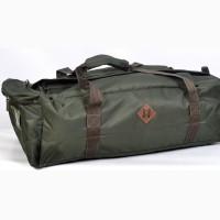 Однотонная сумка-рюкзак на 55 литров - хаки