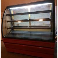 Кондитерская холодильная витрина 1.4 метра б/у