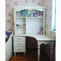 Угловой письменный стол Скарлет из дерева