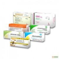 Картонная упаковка в Киеве для лекарств и бидобавок