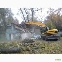 Демонтажные работы Киев. Снос зданий. Демонтаж бетона