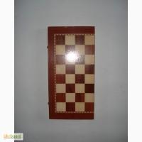 Шахматы/нарды/шашки доска 395 Х 390 мм. N1 малые
