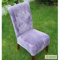 Продам мягкие фиолетовые стулья б/у для кафе, баров, ресторанов