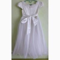 Нарядное платье на девочку 7-9 лет