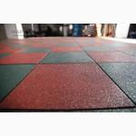 Резиновое покрытие для спортивных площадок, резиновая плитка 50 х 50 см