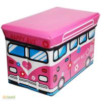 Многофункциональный пуф короб для игрушек
