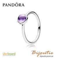 Оригинал PANDORA кольцо капля 190983ACZ
