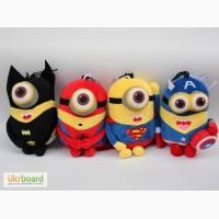 Миньоны в костюмах персонажей фильмов о супергероях