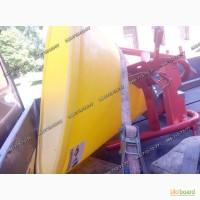 Разбрасыватель минералки МВУ-0.5 на 500 кг лейка