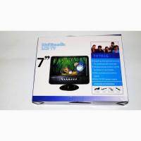7 Портативный телевизор с аккумулятором TV USB+SD
