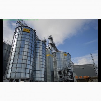 Шахтная зерносушилка Арай | Купить шахтные экономичные зерносушилки с газовой горелкой