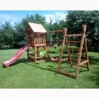 Детский деревянный комплекс Большая игра