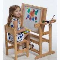 Sm-art Детская Парта столик с мольбертом для рисования