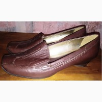 Кожаные туфли Clarks, размер-38