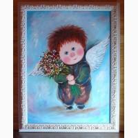 Картины маслом на подарки в детскую комнату