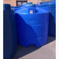 Вертикальная пластиковая емкость 350 литров, бочка для воды