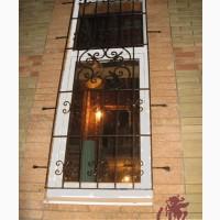 Купить заказать кованые решетки на окна