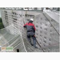 Сетка защитно-улавливающая (ЗУС) для строек сетка оградительная капрон