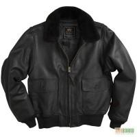 Лётные кожаные куртки Палубной Авиации США от Американской фирмы Alpha Industries (USA)