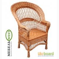 Плетеные столы и стулья, Кресло Развернутое