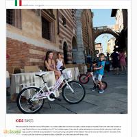 Подростковый велосипед для девочки (Италия)